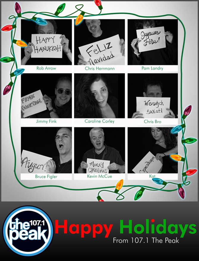 Happy Holidays from The Peak