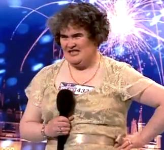 Susan Boyle Cries……..Again