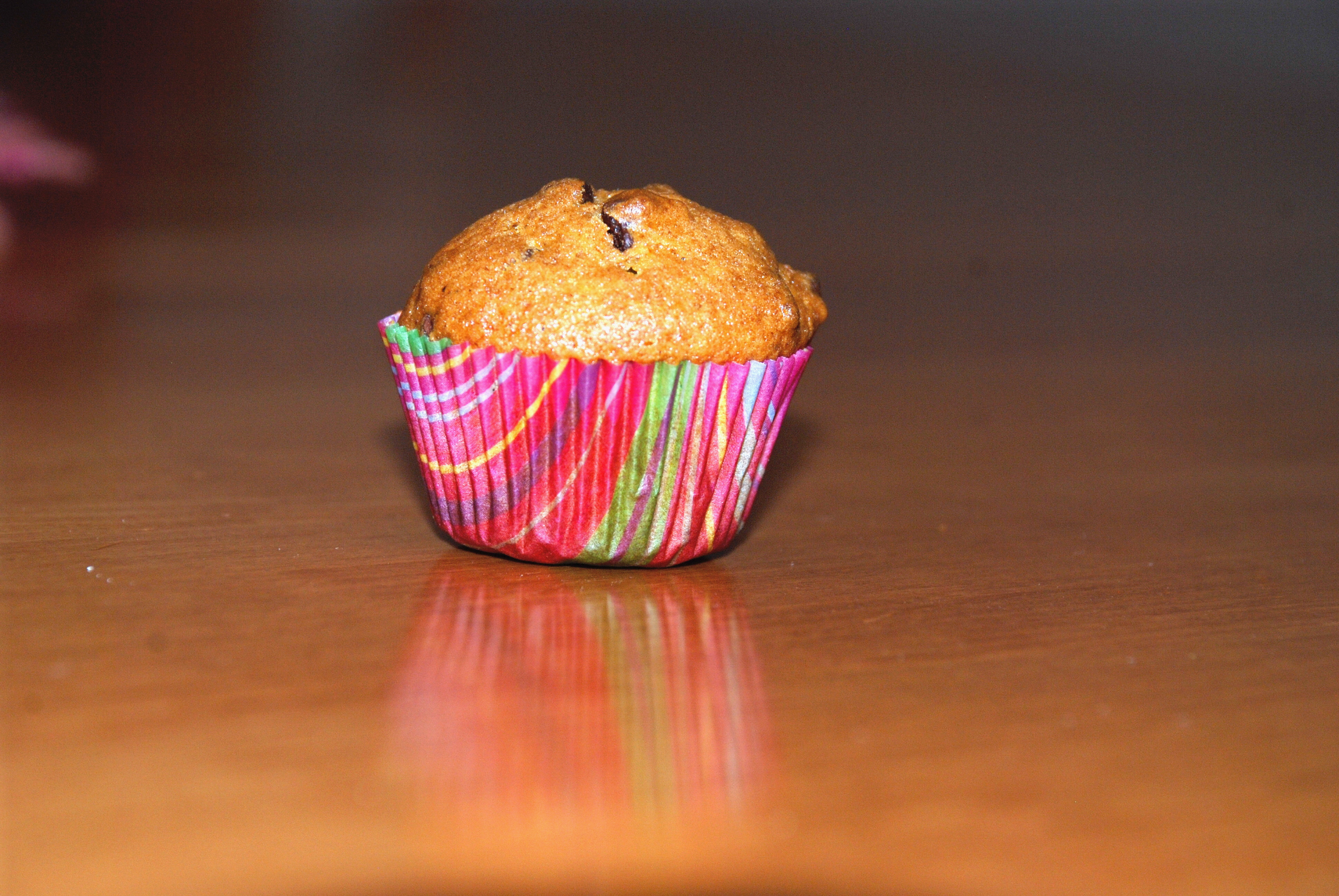 Mini Pumpkin Chocolate Chip Muffin
