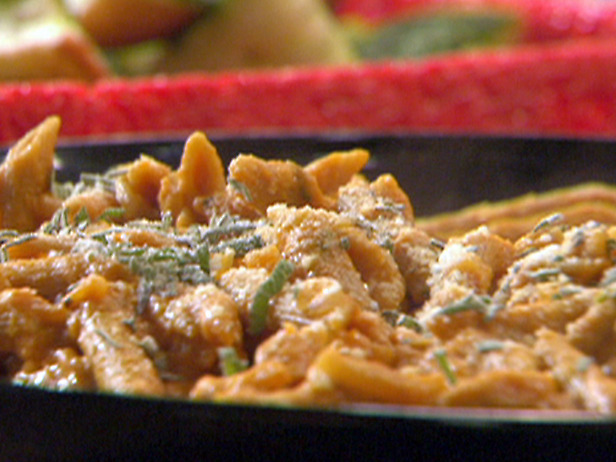 Penne-Wise Pumpkin Pasta courtesy Rachel Ray