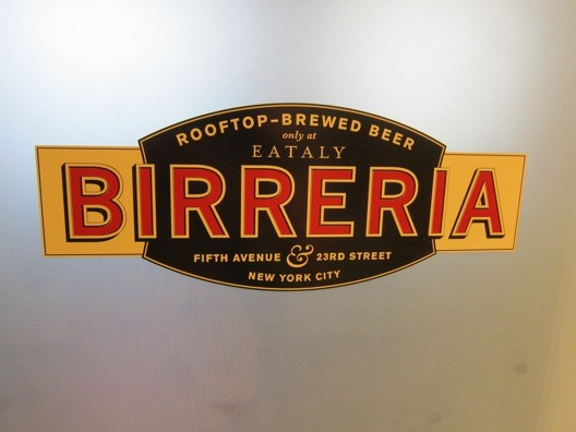 La Birreria at Eataly
