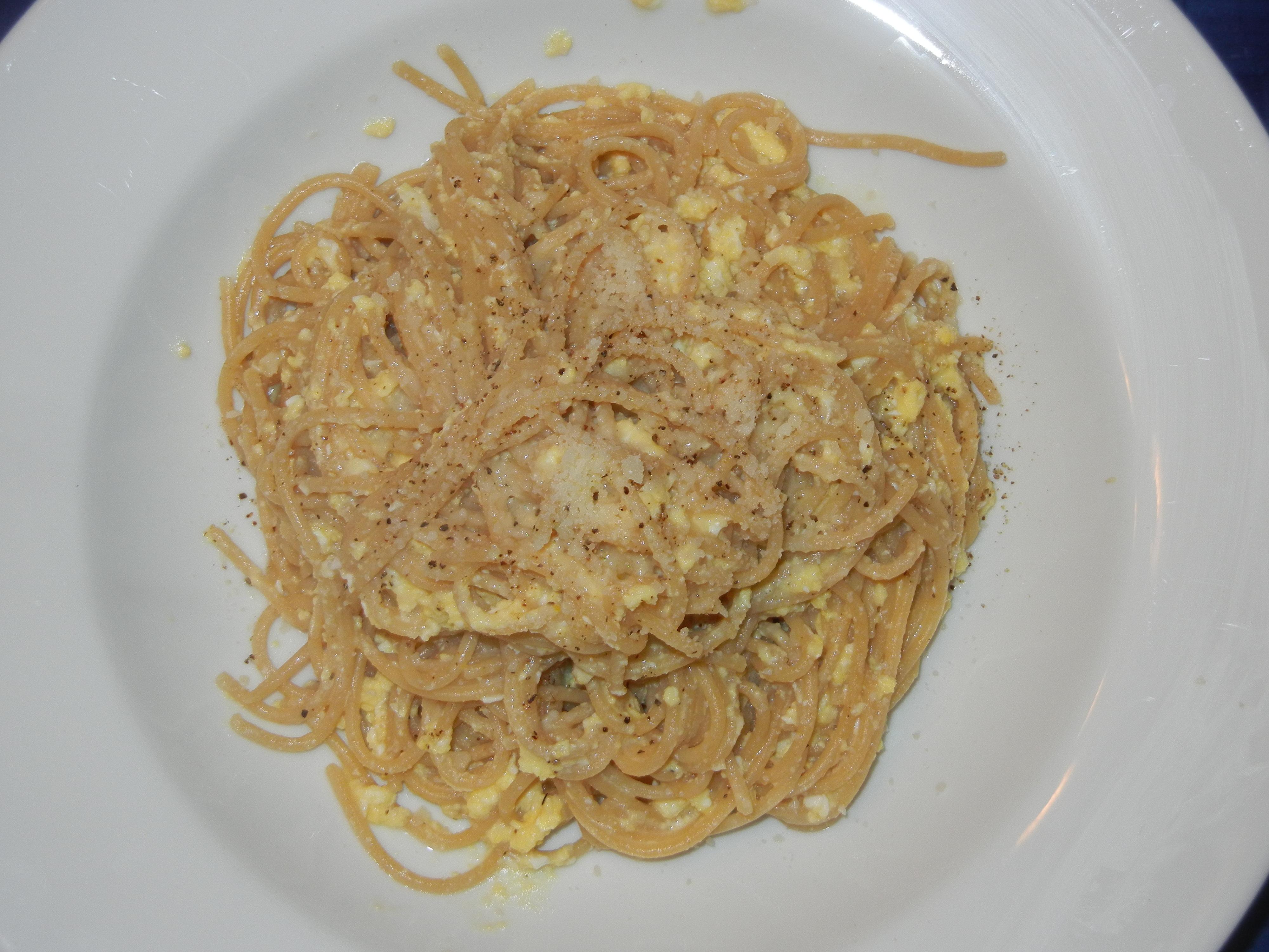 Spaghetti and Eggs
