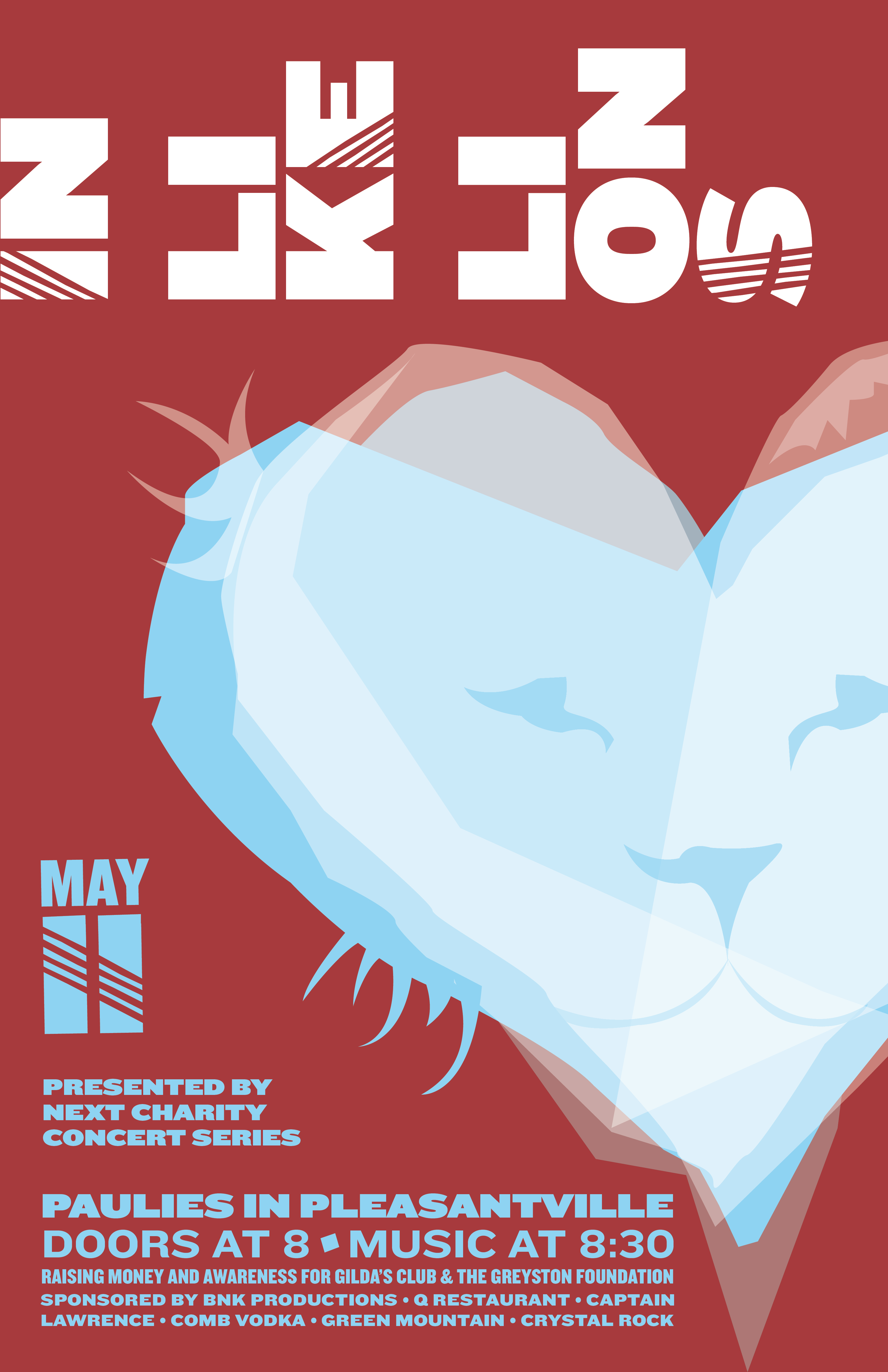 Charity Concert May 11: In Like Lions