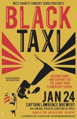 Charity Concert with Black Taxi