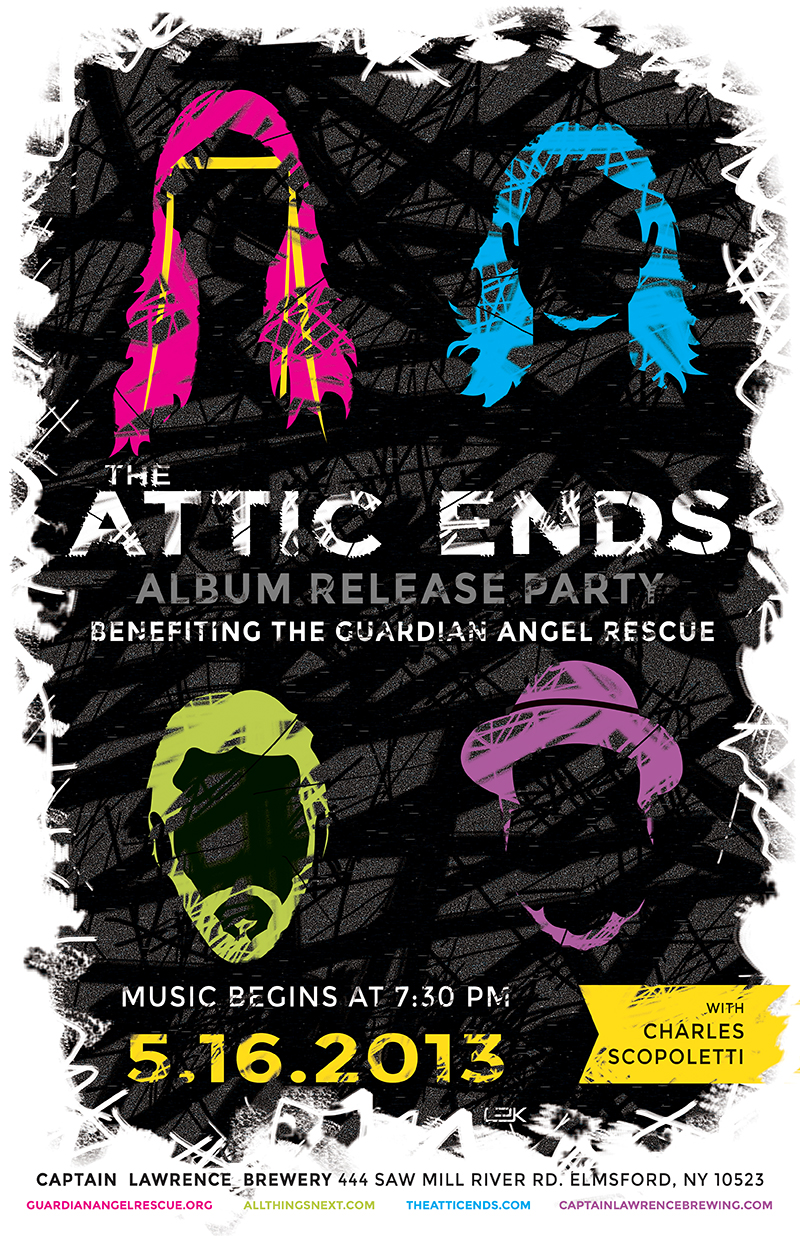 Next Charity Concert with The Attic Ends