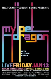 Next Charity Concert EP: My Pet Dragon at CLBC 2012