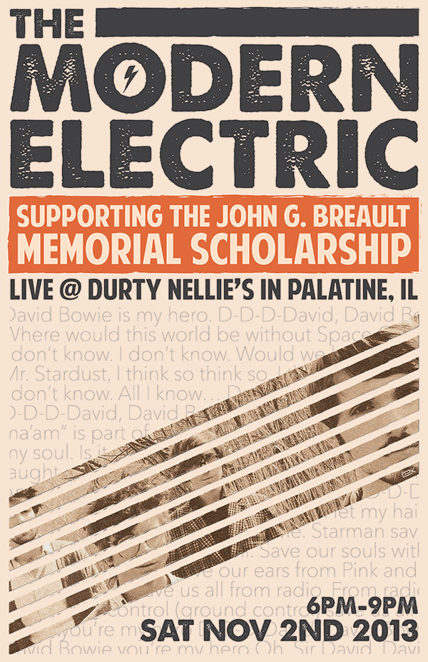Charity Concert for John Breault with The Modern Electric