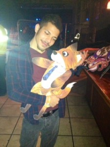 FBR's friend Dallas and video's protagonist Mr. Fox