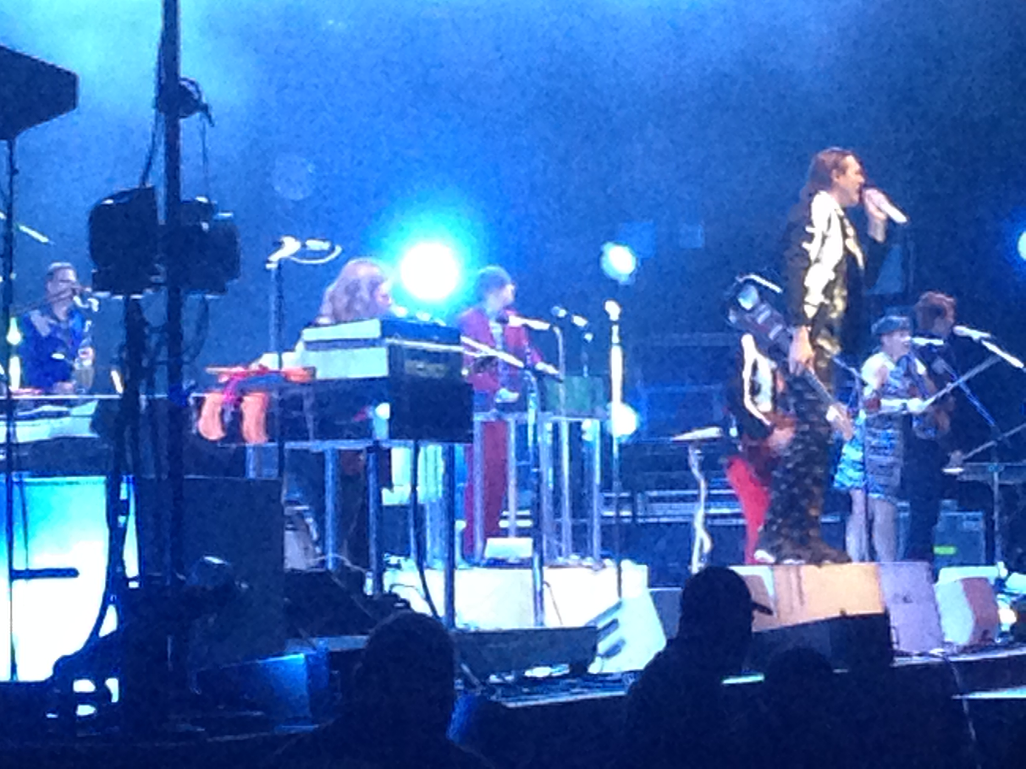 Arcade Fire on Fire Live