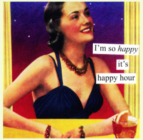 I am so happy its happy-hour