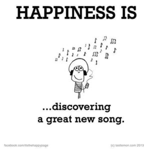 happiness is new songs