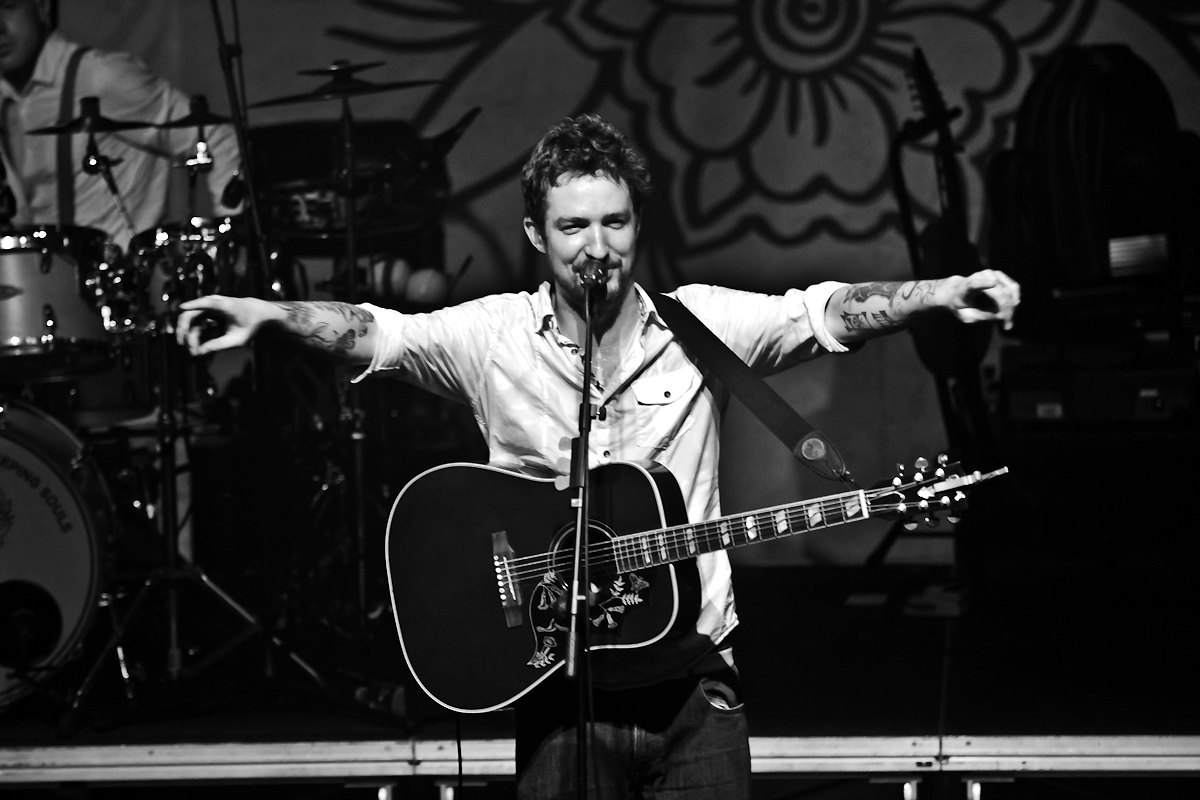 Interview with Frank Turner (and Ben Morse)