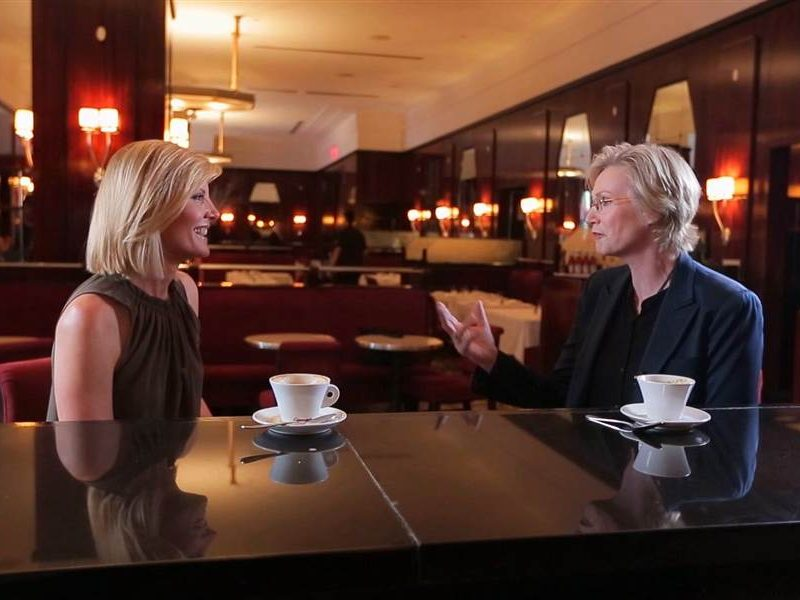 The Drink Kate Snow and Jane Lynch