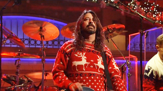 Foo Fighters Win Christmas
