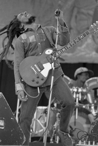 Bob Marley Born