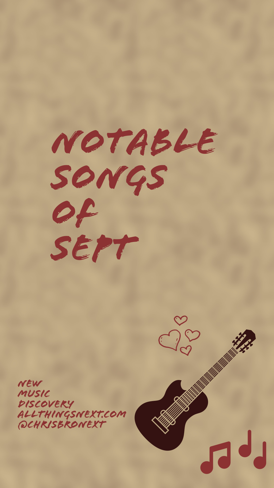 Next Week 700 Our Notable Songs of Sept 2019