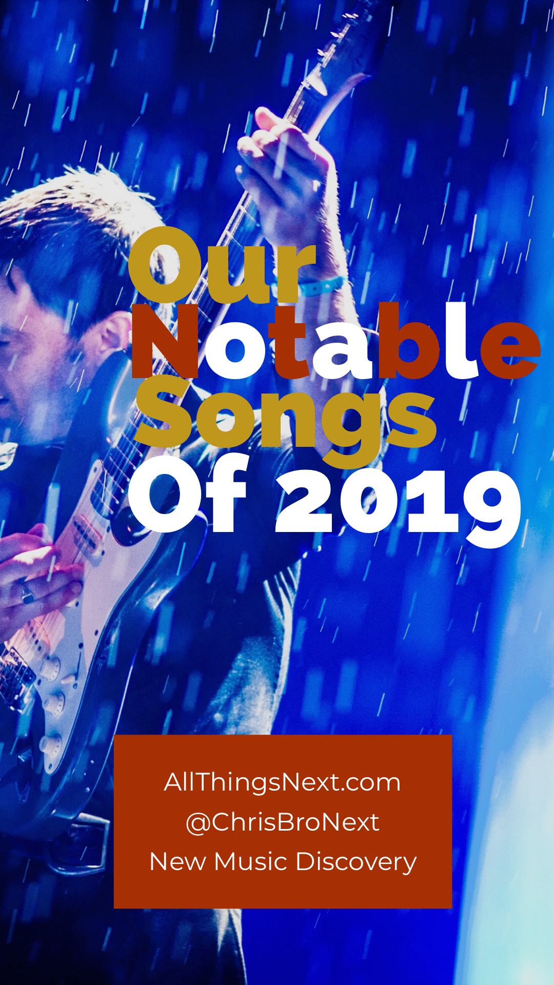 Next Week 712 Week 1 of 4 of Our Notable Songs of 2019